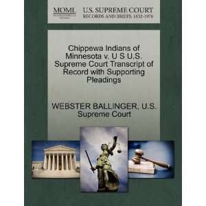 Chippewa Indians of Minnesota v. U S U.S. Supreme Court