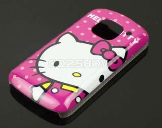 Hot Pink Hello Kitty Cartoon Hard Case Back Cover For Nokia E5