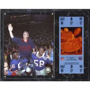 Bill Parcells Sublimated 12x15 Plaque  Details New York