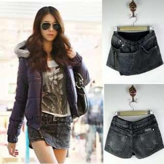New Ladies Womens Fashion Designed Shorts Jeans Pants T20105