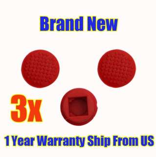NeW 3x Pointer TrackPoint Red Cap IBM Thinkpad Laptop