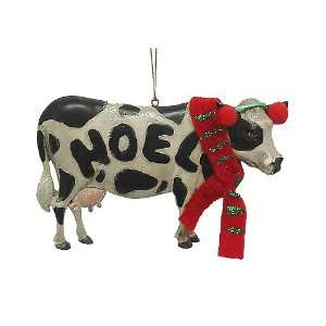 Country Heritage Farm Cow Noel Christmas Ornament Home & Kitchen