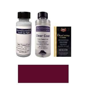 2 Oz. Dark Red Pearl Metallic Paint Bottle Kit for 1993