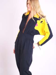 Vtg 80s GIANT FACE Pop Art Batwing Pleated HEART LIPS Dress Pants