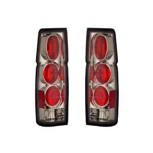 86 97 Nissan Hardbody Chrome Tail Lights: Automotive