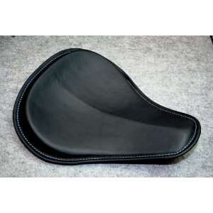 NYC Choppers Leather Solo Motorcycle Seat For Harley Davidson Dyna XL