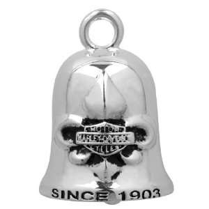 Harley Davidson® Fleur Bar & Shield Ride Bell Silver Bell