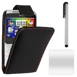Accessory Pack For The HTC ChaCha Leather Flip Case Cover