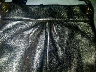 Marc Jacobs Metallic Classic Q Hillier Hobo Handbag Purse Gorgeous NWT