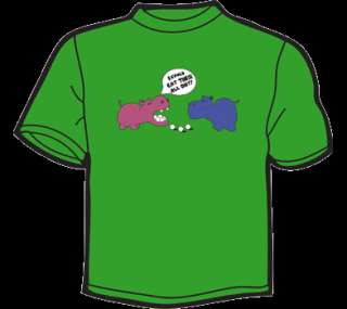 HUNGRY HIPPOS T Shirt WOMENS funny vintage 80s retro