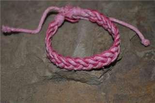 Color Fashion Adjustable Hippie Sailor Knot Surfer Friendship Bracelet