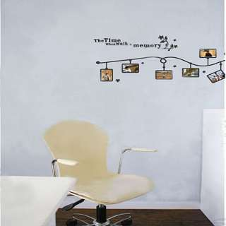 New Time Memory DIY Wall Art Sticker Home Decal Mural PVC Stickers
