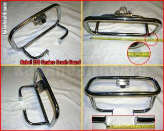 Honda Rebel CMX250 Engine Guard Crash Bar (1986 2008)