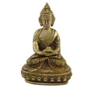 Meditation Sculpture of Hindu God Buddha: Home & Kitchen