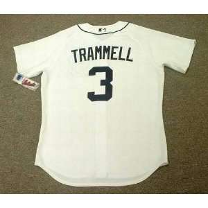 ALAN TRAMMELL Detroit Tigers Majestic Athletic AUTHENTIC