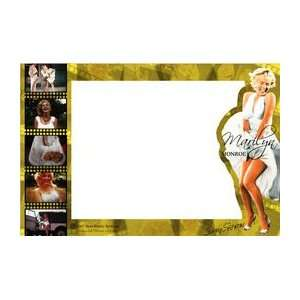Monroe Glass Picture Frame White Dress Blowing Montage