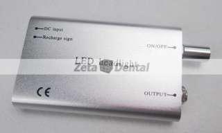 Dental Surgical Portable LED Head Light Lamp for Loupes