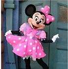 Brand New Minnie Mouse Mascot Costume Adult Sz Fancy Dress