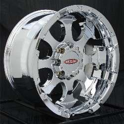 17 inch Chrome Wheels/Rims Chevy HD Dodge Ram H2 8 Lug