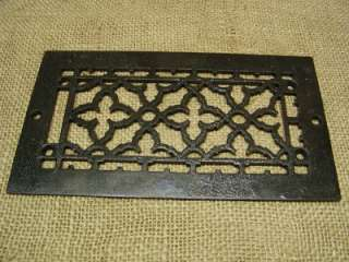 Vintage Cast Iron Register Grate > Antique Old Hardware