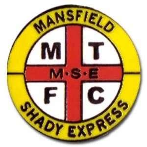 Mansfield Hooligans Badge