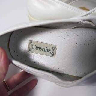 Drexlite White Vegan Nurse Comfort Clogs 8 M