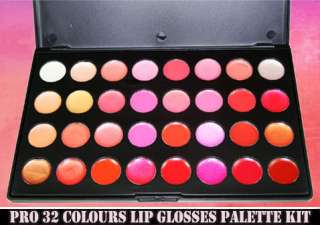 PRO 32 Colours Lip gloss Set Makeup Lipsticks palette