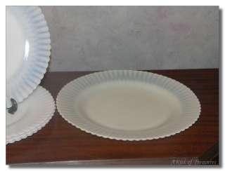 Vintage Opalescent Petalware Plates MacBeth Evans