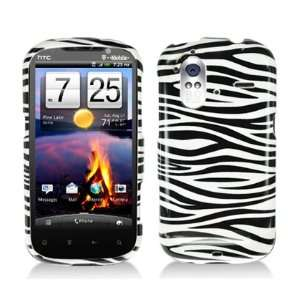 Zebra Hard Case Cover for HTC Amaze 4G Cell Phones & Accessories