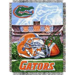 Florida Gators Woven Tapestry NCAA Throw (Home Field