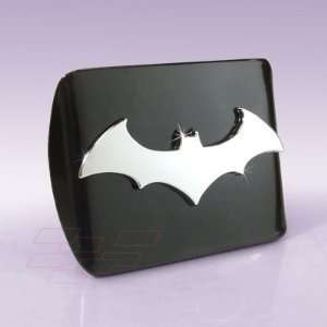 Batman 3D Black Metal Hitch Cover Automotive