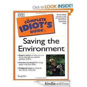 Complete Idiots Guide to Saving the Environment (The Complete Idiots