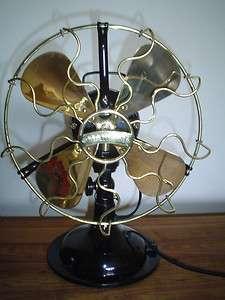 1929 Antique Vintage Italian Marelli Sirio Electric Fan Restored