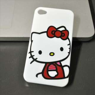 Hello Kitty Hard Case Cover For iPhone 4 4G hk10 New