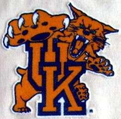 Kentucky Wildcats 3 inch Lextra Iron On Logo Patch