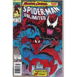 Spider Man Unlimited #1 First Issue Comic Book