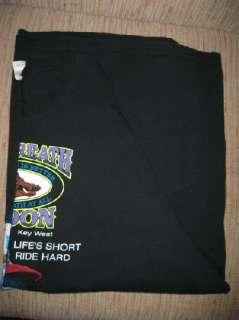 3X Harley Davidson Key West Tee Shirt Pre Owned