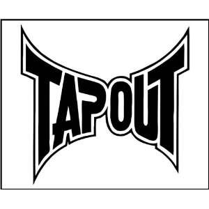Vinyl Decal   Tapout Logo   Car, Truck, Notebook, Laptop, iPod, iPad