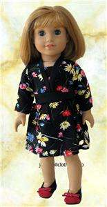 Doll Clothes Floral Dress Fits American Girl &18 JBF