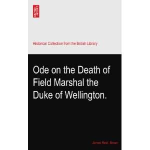 Death of Field Marshal the Duke of Wellington. James Reid. Brown