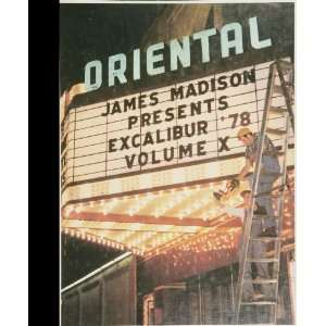 Reprint) 1978 Yearbook James Madison University High School