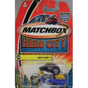 MATCHBOX HERO CITY COLLECTION CAP N COP VEHICLE: Toys