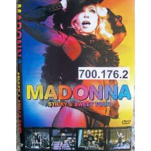 Madonna * Sticky and Sweet Tour * 71 min * DVD PAL * 700
