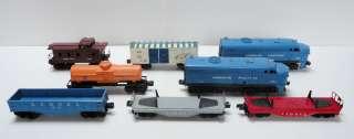 pc LIONEL TRAIN SET 205 Engine, Dummy, 6014, 6017, 6025, 6112, 2