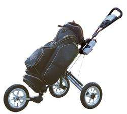 NEW 2012 X7 LITE LINKSMAN GOLF 3 SPEED THREE WHEEL GOLF PUSH PULL CART