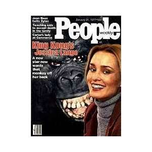 PEOPLE WEEKLY MAGAZINE   JANUARY 31ST, 1977   (KING KONGS