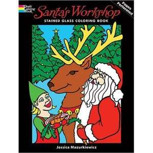 Holiday Stained Glass Coloring Book) (9780486469379) Jessica