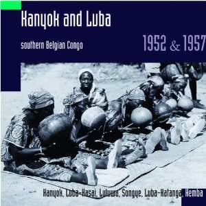 Kanyok and Luba   Hugh Tracey 1952 57: Belgian Congo