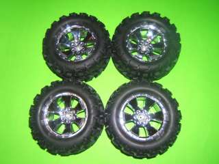 NEW REDCAT EARTHQUAKE 3.5 COMPLETE SET WHEELS / TIRES