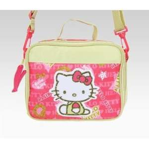 Hello Kitty Lunch Bag Green Apple